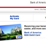 Bank of America edd - CARD ONLINE ACTIVATION